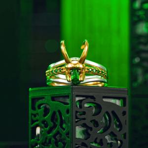 Loki Helmet Rings