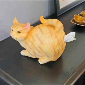 Cat's Butt Tissue Holder