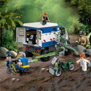 The Lego Jurassic World