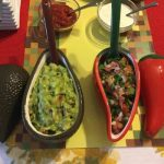 Guacamole & Sasla Serving Tray