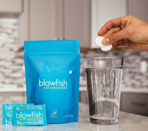 Blowfish For Hangovers, Best Hangover Tablet