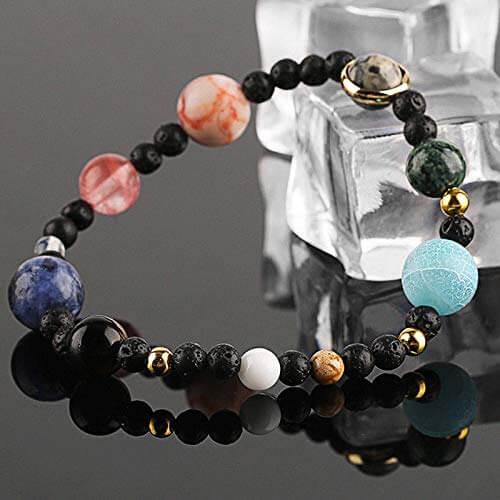 Galaxy Solar System Bracelets