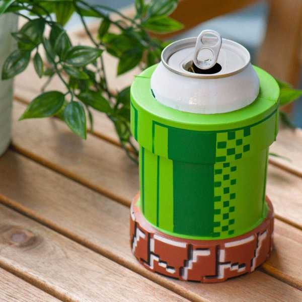 Super Mario Warp Pipe Drink Cooler