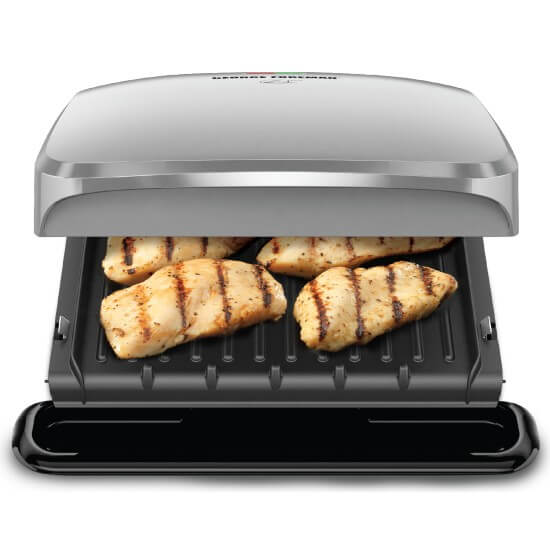 Removable Plate George Foreman Grill