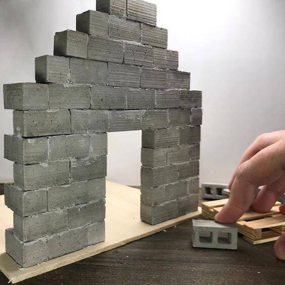 Mini Cinder Blocks