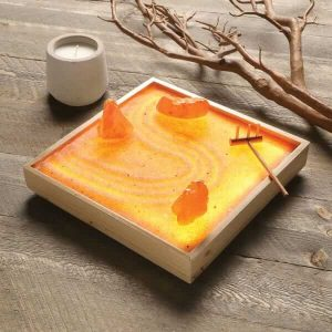 Himalayan Salt Zen Garden