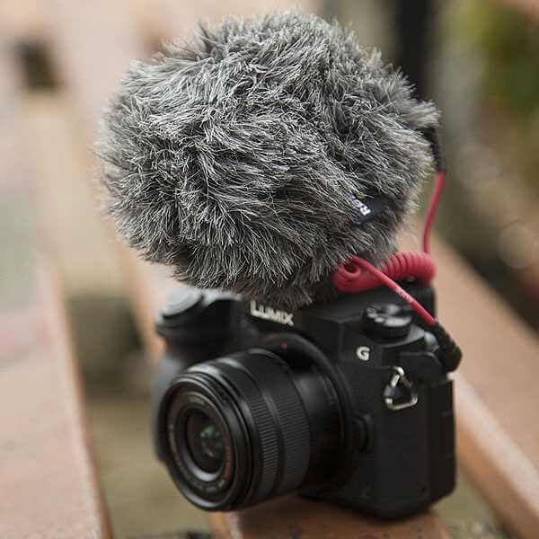 Microphone for a Camera