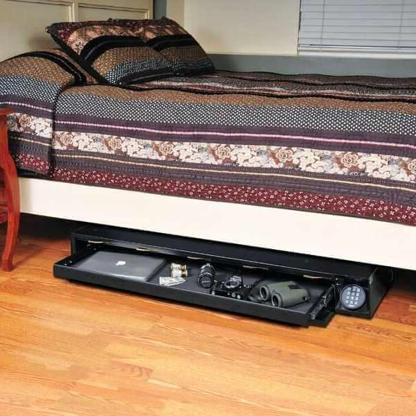 Under Bed Safe Gun