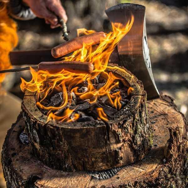 Wood Burning Grill