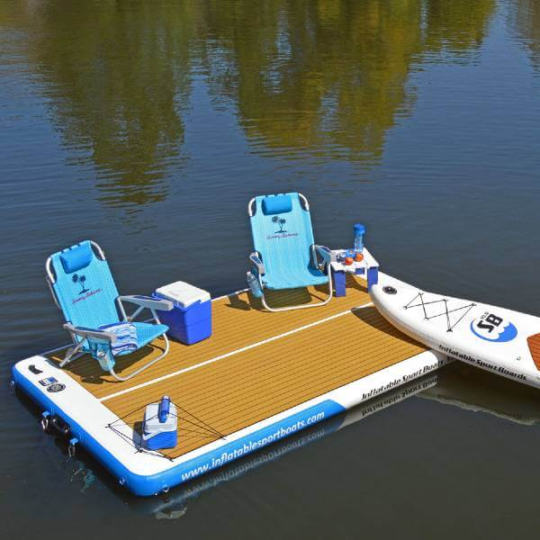 Inflatable Boats Yacht Dock