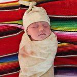 Baby Burrito Blanket