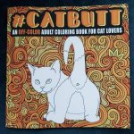 Cat Butt Coloring Book