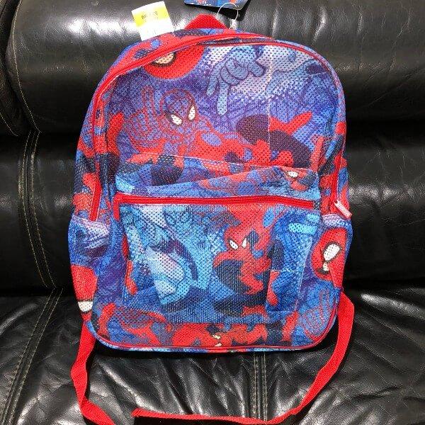 Marvel Spiderman Mesh Backpack