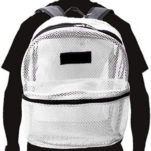 Travel Sport See Through Mesh Backpacks