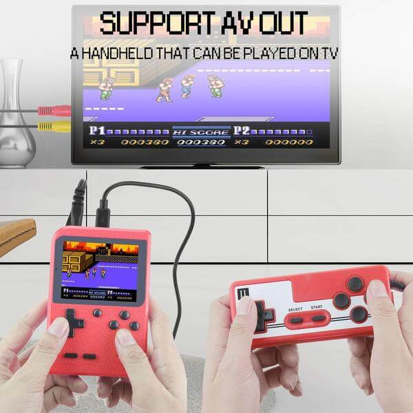 Jackky Handheld Game Console