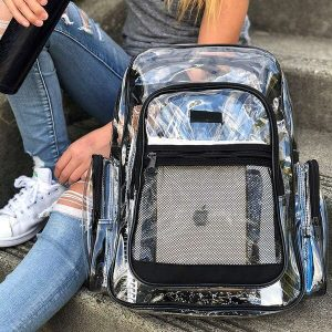 Heavy Duty Clear Backpacks