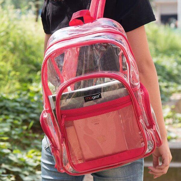 MGgear Clear Backpack