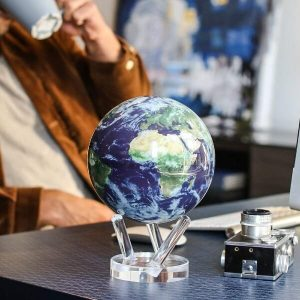 Mova Globe Earth with Clouds